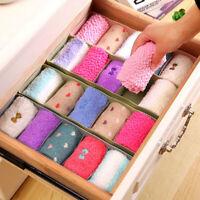Household Underwear Socks Storage Boxes Waterproof Drawer Organiser Holder New