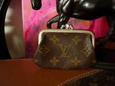 RARE Vintage LOUIS VUITTON Saks FC Kisslock Coin Wallet Handbag Accessory Case