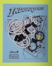 1993 Williams Indiana Jones pinball rubber ring kit IJ