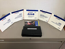 2008 Suzuki SX4 OEM Owner's Manual w/ Supplements & Case - Free Shipping