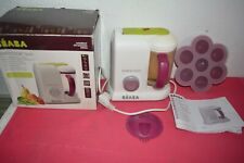 Babycook GIPSY SOLO BEABA cuiseur vapeur mixeur + pots conservation !!!!!!!!!!!!