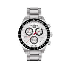 *NEW* TISSOT T044.417.21.031.00 MENS PRS 516 STAINLESS STEEL CHRONOGRPH WATCH