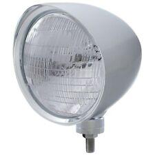 "UNITED PACIFIC ""CHOPPER"" Headlight w/ Smooth Visor - 6014 Bulb 32515"