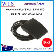Herga Foot Switch,Thermoplastic Momentary SPST 3 A@ 24 V ac,IPX7-6221-AABA-ZZAZ