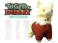 Tiger and Bunny 12'' Barnaby Casual Cosplay Llama Alpaca Plush Licensed NEW