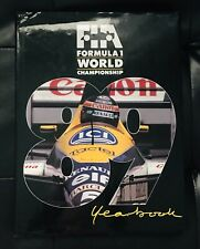 FIA Formula 1 World Championship 89 Yearbook Nascar Hardcover Book