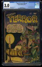 Beware! Terror Tales #2 CGC GD/VG 3.0 Cream To Off White