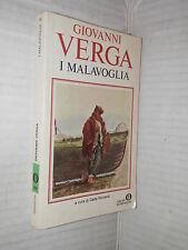 I MALAVOGLIA Giovanni Verga Carla Ricciardi Mondadori 1981 libro romanzo storia