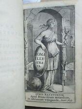 ROMA ILLUSTRATA SIVE ANTIQUITATUM ROMANARUM BREVIARUM, 1645. 3 planches