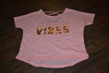"""F10- H&M Sport """"Athletic Vibes"""" Cotton Blend Top Size 4-6Y"""