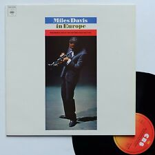 "LP Miles Davis ""... in Europe - ...live at the Antibes festival"""