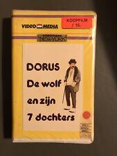 Dorus Video Media Big Box Ex-Rental Vintage VHS Tape Dutch NL Film Videoband