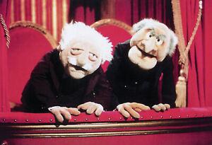 Muppets Waldorf und Statler Blechschild Schild Tin Sign 20 x 30 cm FA0424