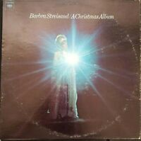 Barbra Streisand A Christmas Album Vintage Vinyl Record 1967 LP VG+ CS9557