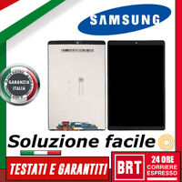 DISPLAY LCD+TOUCH SCREEN x SAMSUNG GALAXY TAB A 2019 SM-T515 T510 SCHERMO VETRO!