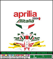 kit adesivi stickers compatibili  rsv 1000 r sbk alitalia