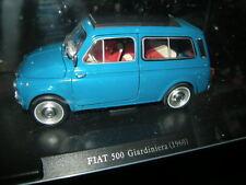 1:24 Leo Models Fiat 500 Giardiniera 1960 blau/blue VP