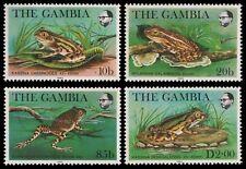 Gambia 1982 - Mi-Nr. 453-456 ** - MNH - Frösche / Frogs