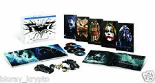 The Dark Knight Trilogy: Ultimate Collector's Edition (Blu-ray Disc, 2013,...