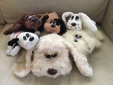 Vintage 6 Lot Tonka Pound Puppies Dogs, Newborn Furries, Rescue Plush Stuffed L