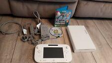 Nintendo Wii U white 8GB with New super mario bros u