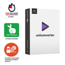 Wondershare UniConverter 12.0.6 Last Version Fast Delivery