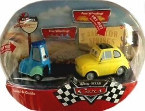 Disney Store Exclusive CARS Movie Talking Luigi & GUIDO New Factory Sealed 2006