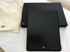 MONTBLANC Meisterstuck Black Classic Leather Ipad 3 Case 111242