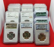 US COIN COLLECTION LOT GRAB BAG GRADED PCGS, NGC, ICG ERROR, SILVER, AND MORE!!!
