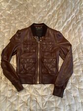 Gucci Women's Leather bomber Jacket – IT44 / UK12