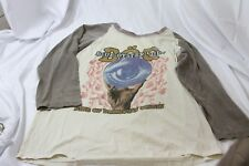 Blue Oyster Cult Fire of Unknow Origin Tour Shirt Original XL