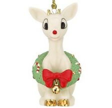 Lenox RUDOLPH'S CHRISTMAS SPIRIT Ornament *NEWinBOX* Red Nose Reindeer