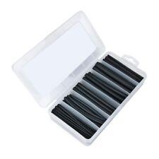 Schrumpfschlauch Sortiment mit Innenkleber 3:1 schwarz + Box 87 teilig Neu