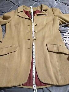 Biba Hacking style Jacket Vintage 1970s size approx 12/14