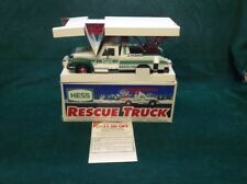 Hess 1994 Rescue Truck - Toy Trucks - New In Box! Great Christmas Present