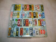 """""""License Plates"""" 750 pc jigsaw puzzle."""