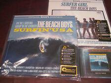 THE BEACH BOYS MFSL 24 KARAT GOLD CD & THE 200 GRAM AUDIOPHILE VINYL COMBINATION