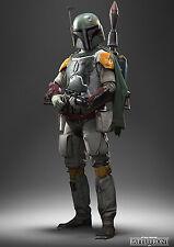 STAR Wars Battlefront a3 260gsm Boba Fett Poster stampati