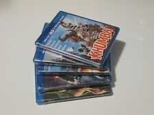 Lot of 5 Blu-Ray 3D Films Khumba Doctor Who 300 Rise of the Empire Amazing Ocean