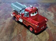 Disney Pixar Cars Red Ransburg Rescue Squad Mater Loose 1:55