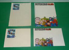 CLUB SUPEREROI Busta e Carta da Lettera Editoriale Corno