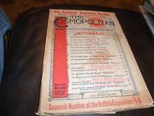 THE COSMOPOLITAN MAGAZINE SEPTEMBER 1901 VOL XXXI No 5 Pan American Exposition
