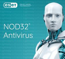 ESET NOD32 Antivirus 2020 - 1 Jahr / 1 PC mehrsprachig , Vollversionfdfd