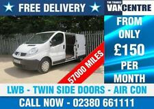 Premium Sound System LWB Commercial Van-Delivery, Cargoes