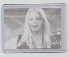 Grimm TV-Show Black Parallel Trading Card #12