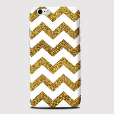 Gold Zig Zag Pattern Phone Case Cover