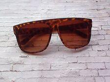 oversized vintage style tortoiseshell wayfarer sunglasses - summer festival