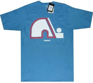Quebec Nordiques Reebok Throwback Logo T Shirt New tags Closeout SMALL