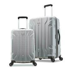 Samsonite Belmont DLX 2-Piece Hardside Luggage Set Silver