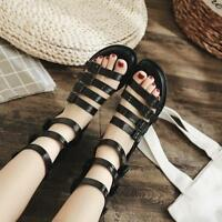Womens Fashion Summer Punk Hollow Out Platform Shoes Gothic Gladiator Sandals